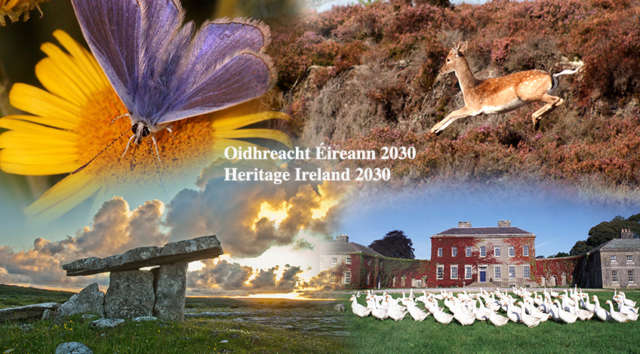 Heritage Ireland 2030 Public Consultation: Public Meeting, Kilkenny Banner Photo