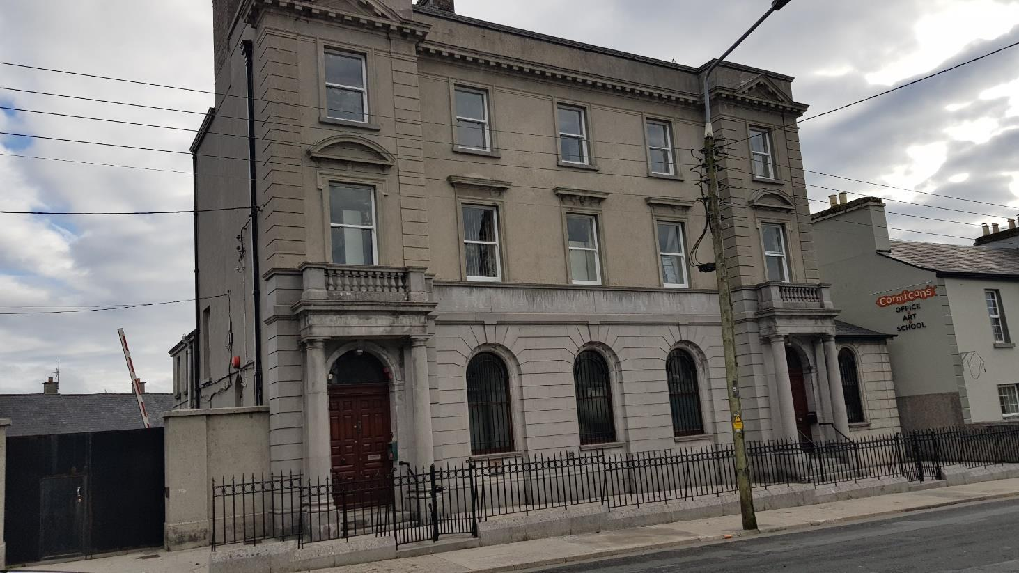 After Painting The Railings Rainwater Goods And Sash Windows Render Cleaned To Remove Algae On The Surface Of The Façade