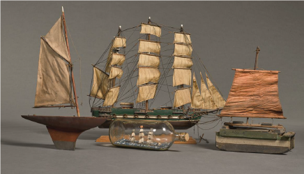 Jack Butler Yeats Model Boats C Niland Collection Model