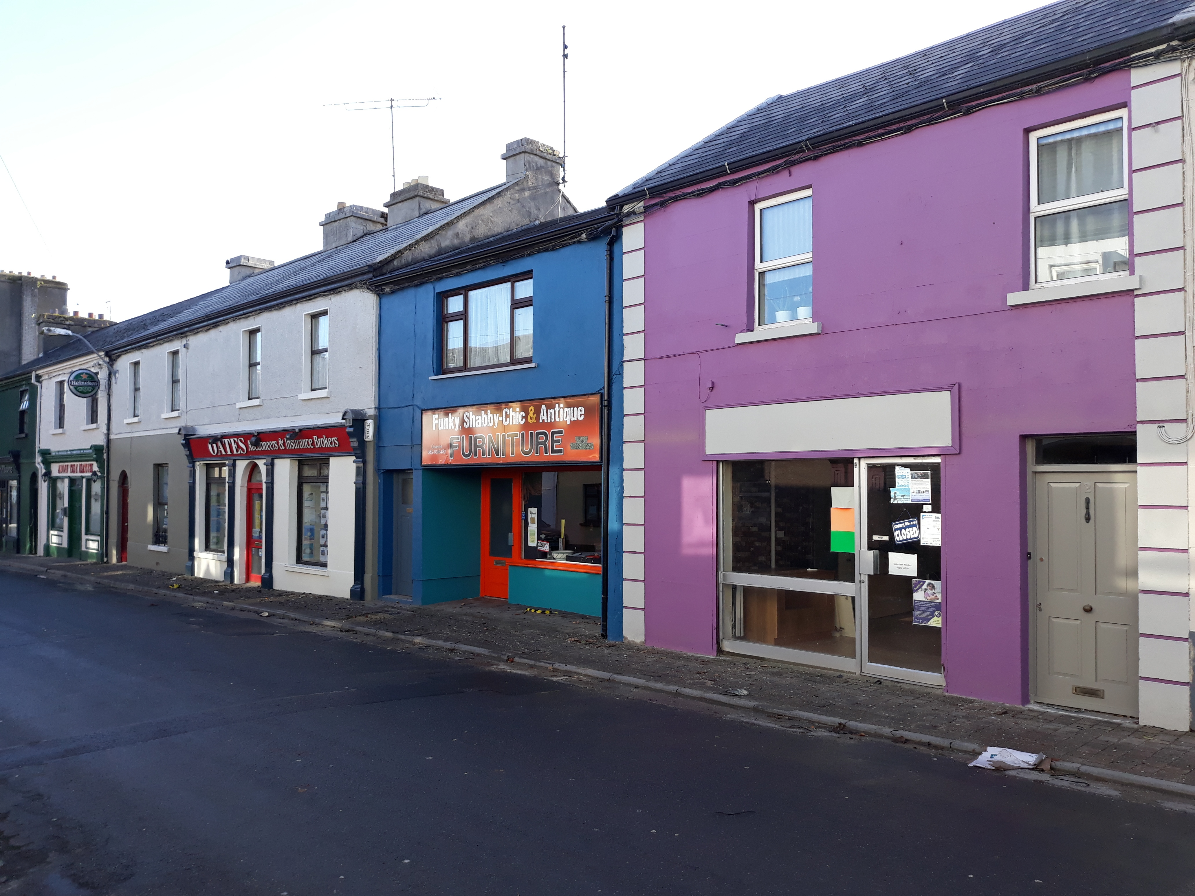 Shop Fronts Painted