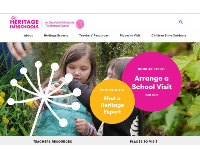 New Website launched for our Heritage in Schools Scheme Banner Photo