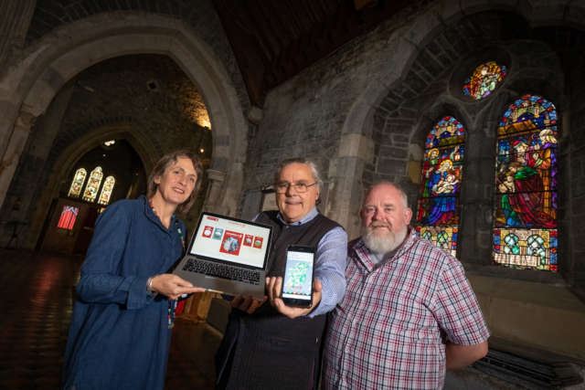 Heritage Council announces launch of 'Irish Stained Glass Revival' map for HeritageMaps.ie Banner Photo