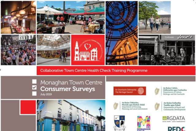 Monaghan Town Centre's Pulse Taken in First-ever Town Centre Health Check Banner Photo