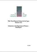 'Pilot' Rural Renewal Scheme for the Upper Shannon Area: Submission to the Department of Finance – Final Report