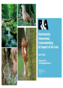 Biodiversity Awareness,understanding and Impact of its Loss