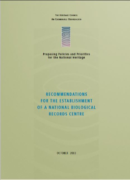 Recommendations for the Establishment of a Biological Records Centre